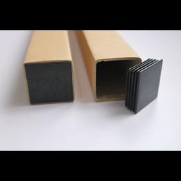 方管包装盒--灯管包装盒-黑色胶盖