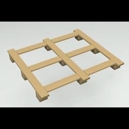 方管托盘—田字型