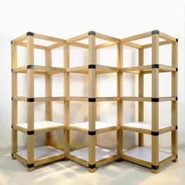 方管展架 —三列四层菱形展架