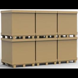 方管箱--环保出口包装箱